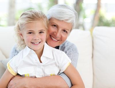 Older woman and young girl smiling l Dentist Summerville SC