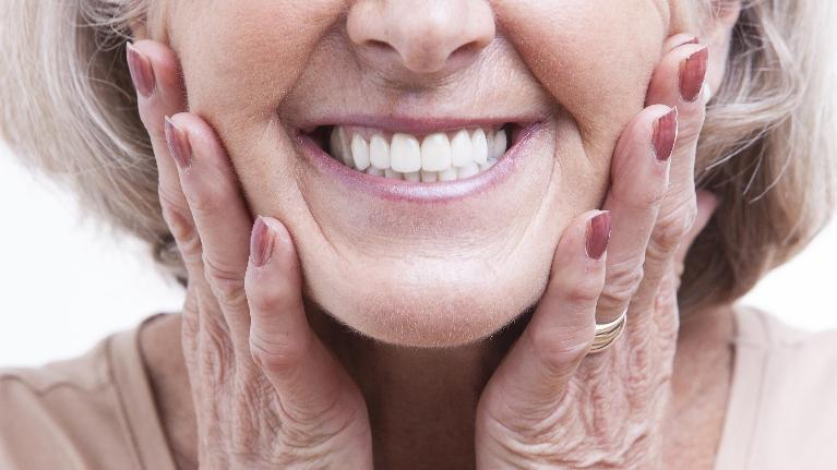 Older Woman Smiling | Azalea Dental near Simpsonville, SC