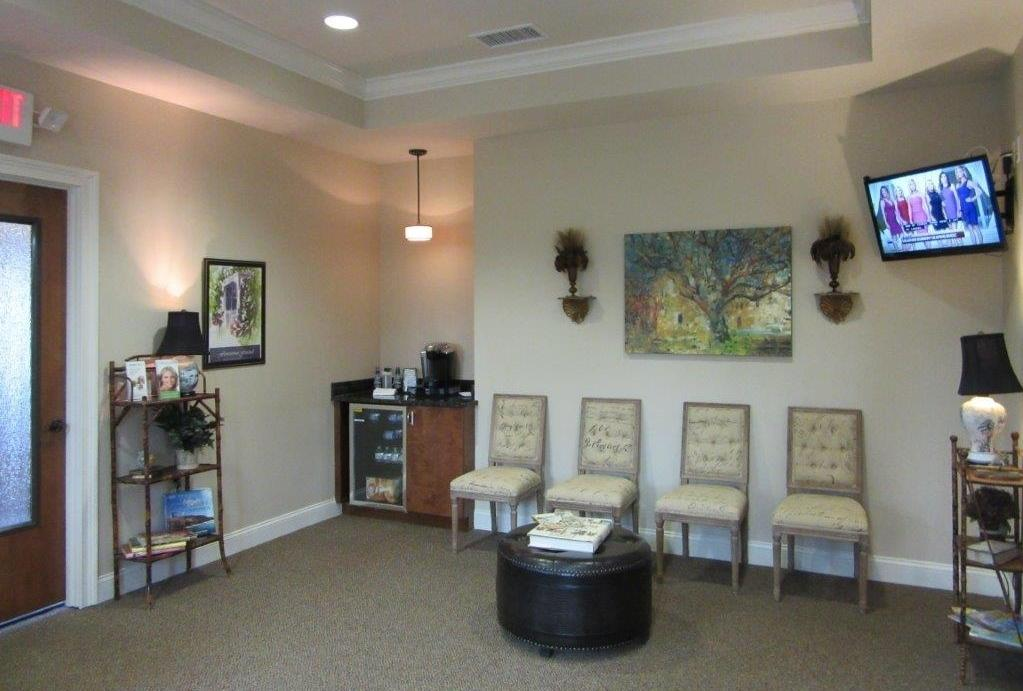 Waiting room in office | Summerville SC Dentist